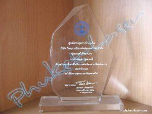 Acrylic Award A25