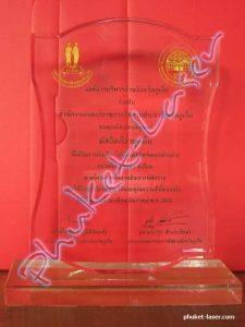 Acrylic Award A16