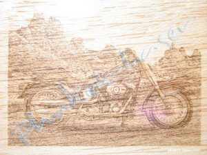 Wooden Laser Engraving