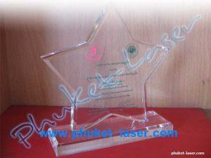 Acrylic Award A5