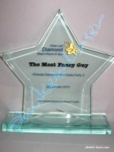 Acrylic Award A18