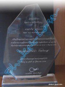 Acrylic Award A8