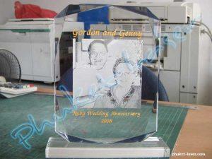 Acrylic Award A23